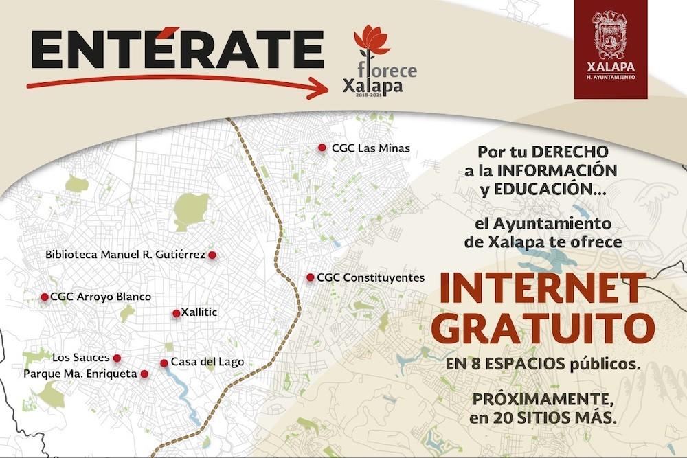 Internet gratuito en Xalapa