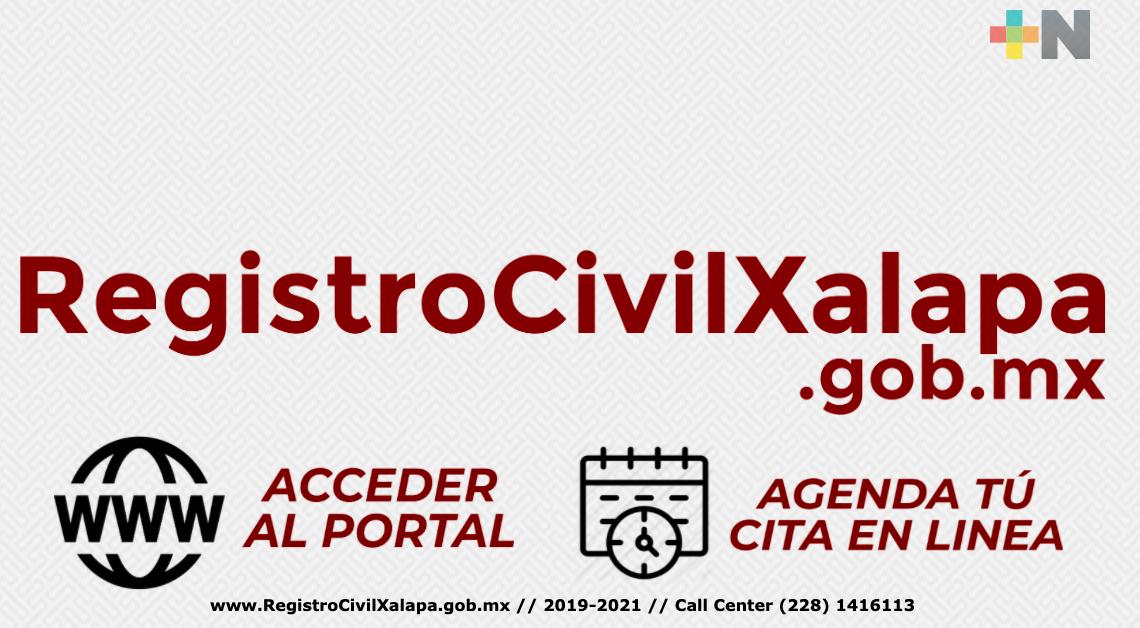 Por posible hackeo cibernético en página del Registro Civil de Xalapa, cobran actas de nacimiento y trámite no se registra
