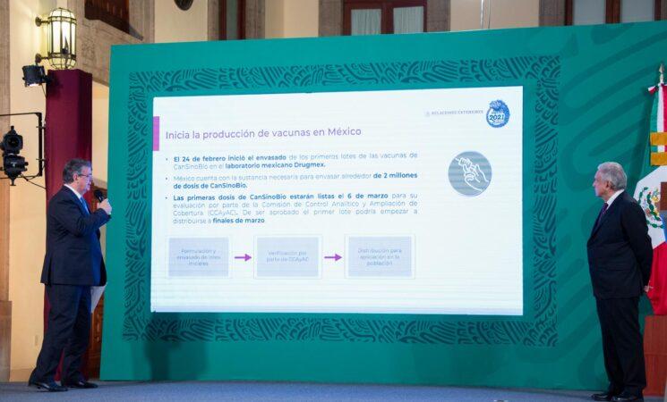 Presidente destaca llegada continua de dosis para garantizar vacunación contra COVID-19