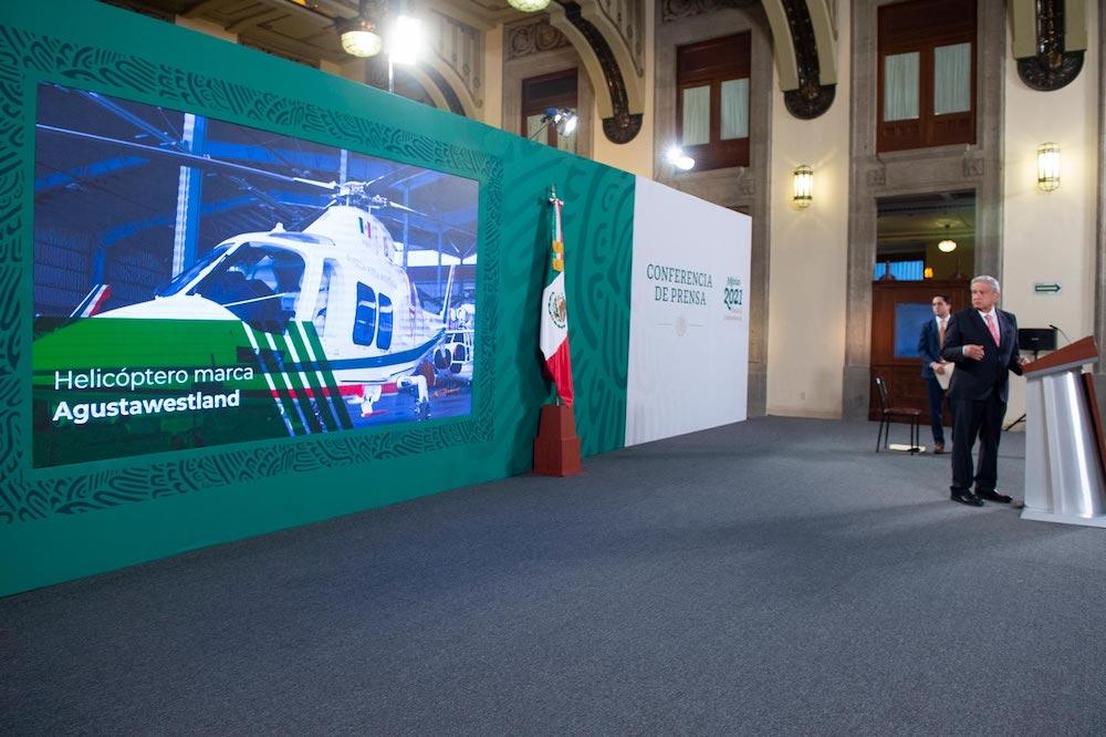 Presidente anuncia nueva subasta de 19 aeronaves; lo recaudado se destinará a educación y salud