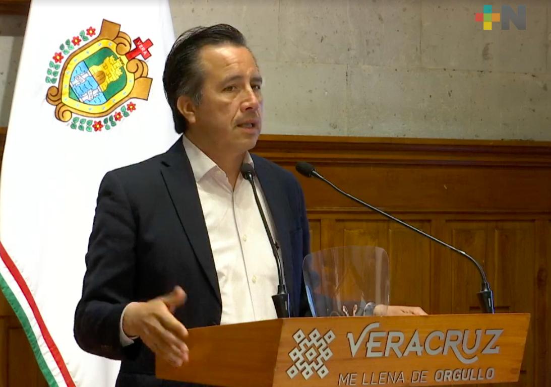 En marcha la segunda etapa de apoyos a comercios y empresarios afectados por pandemia de COVID-19: Cuitláhuac García Jiménez