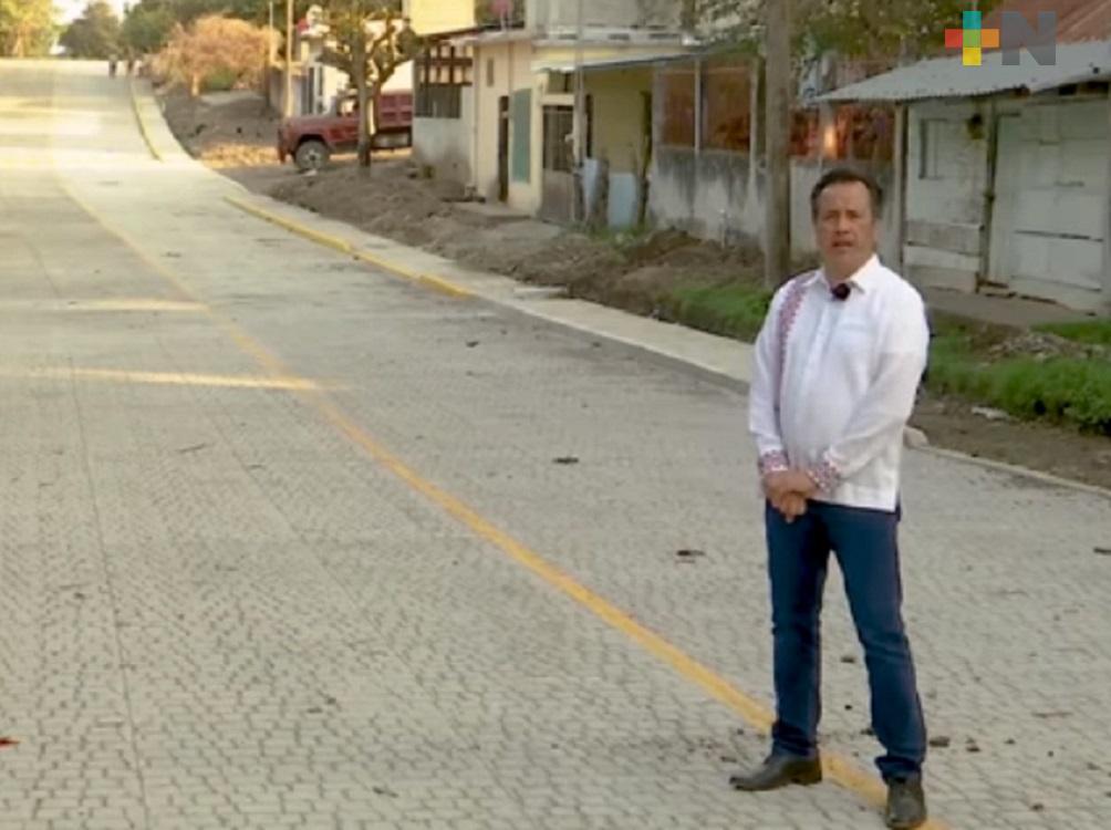 Con obras y acciones se demuestra que se sigue trabajando por el desarrollo de Veracruz: CGJ