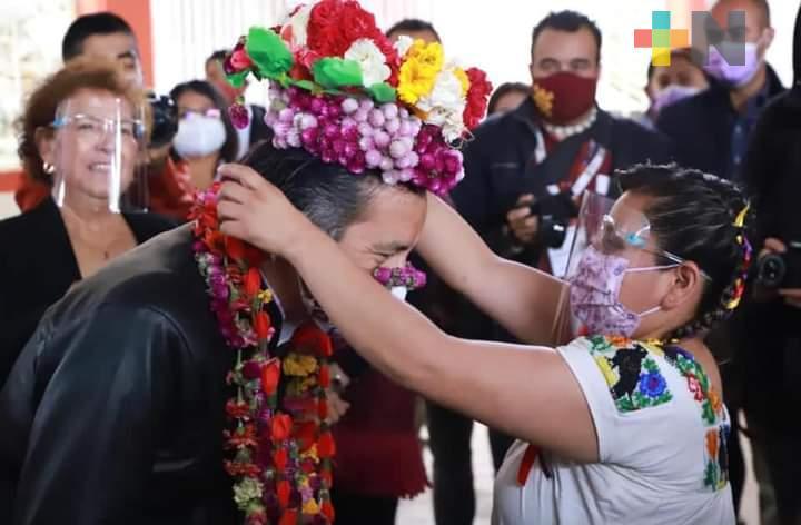 El Gobierno de la Cuarta Transformación en Veracruz atiende las problemáticas e impulsa los derechos de las mujeres indígenas