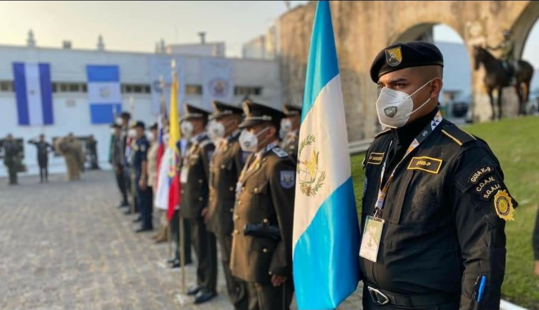 Destaca Policía Nacional de Guatemala participación en Diplomado Internacional Táctico K9 en Veracruz