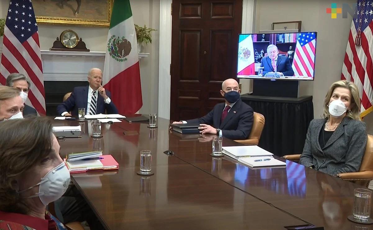Biden promete tratar a México como «iguales»