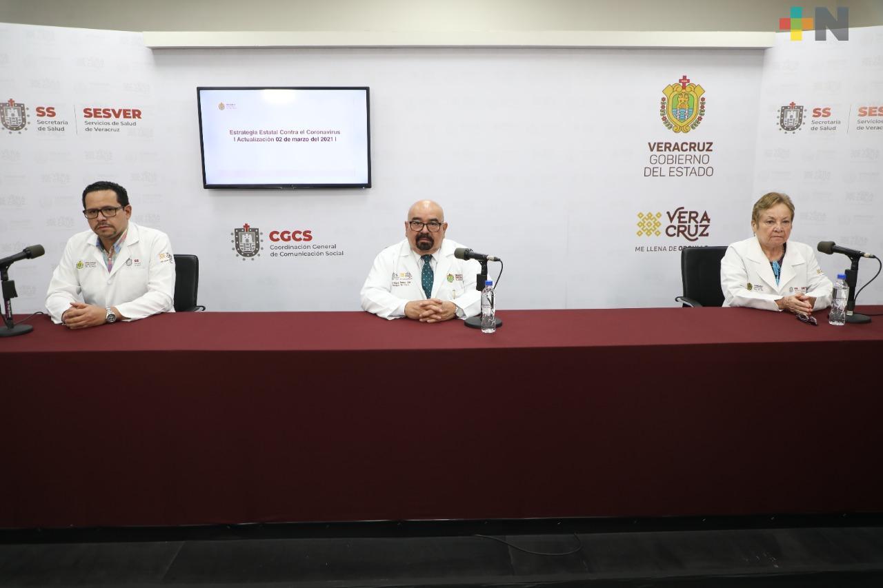 Se registran 89 casos nuevos positivos a COVID-19 en Veracruz