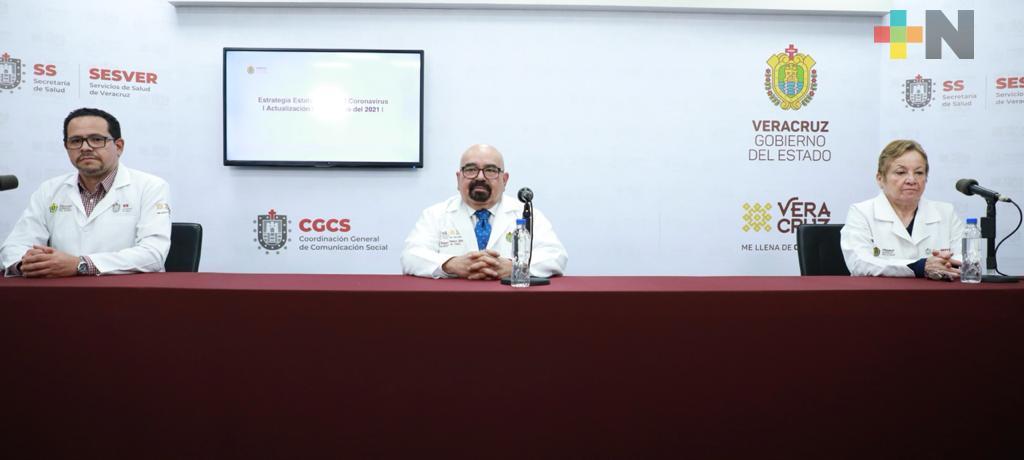 Se registran 99 casos nuevos positivos a COVID-19 en Veracruz