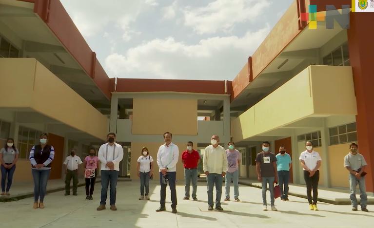 Hay denuncias contra quienes reportaron concluidas obras del Tecnológico Superior de Chicontepec: Cuitláhuac García