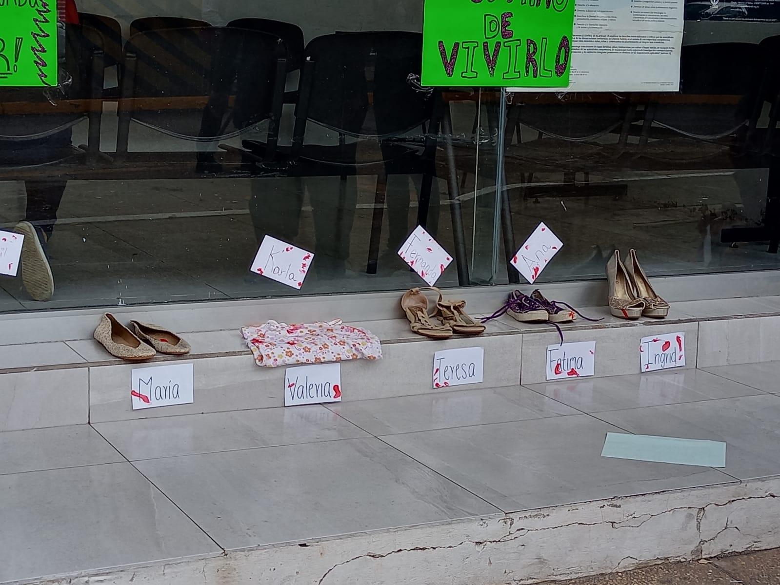 """Con movimiento """"Ni una menos"""" conmemoran el Día Internacional de la Mujer en Coatzacoalcos"""