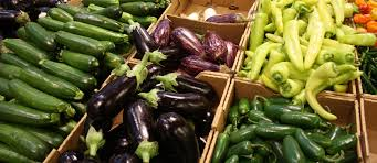 Producción regional de hortalizas