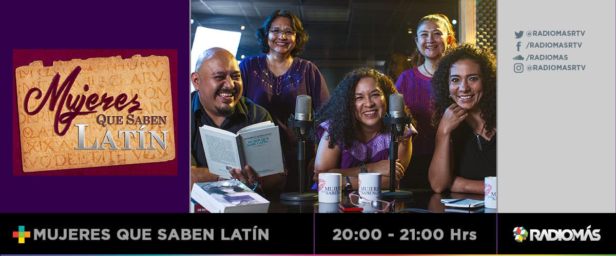 Miércoles – Mujeres que saben latín
