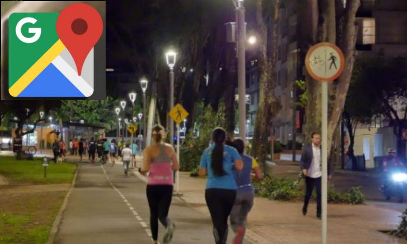Google Maps le hace frente a la inseguridad | añade función para detectar calles con alumbrado público