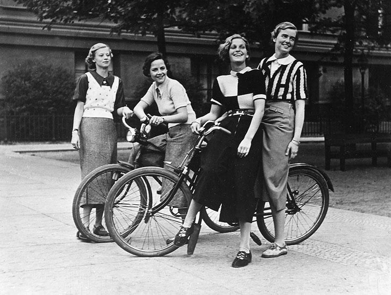 La bicicleta, símbolo de empoderamiento femenino