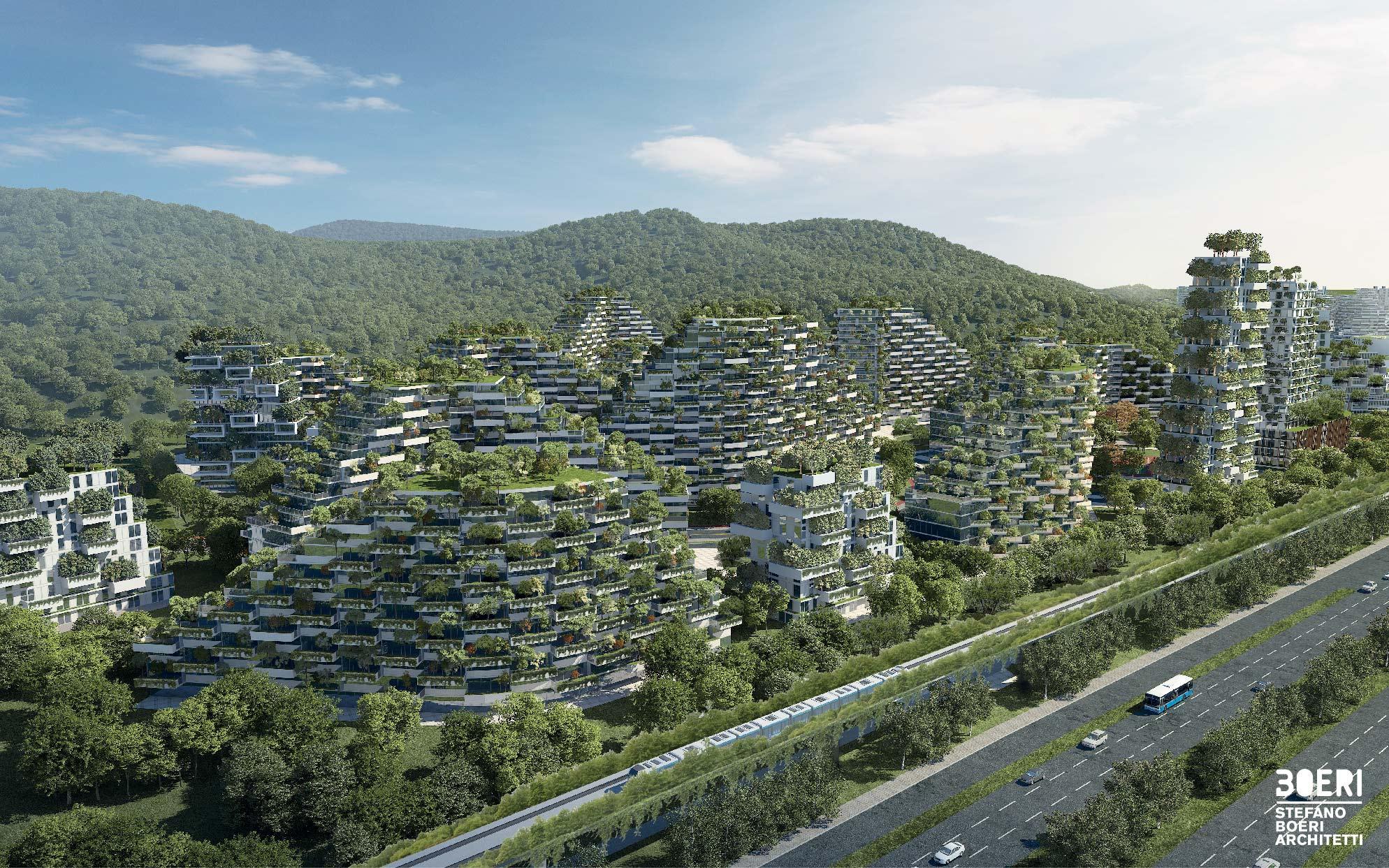 La primera ciudad forestal del mundo se encuentra en China