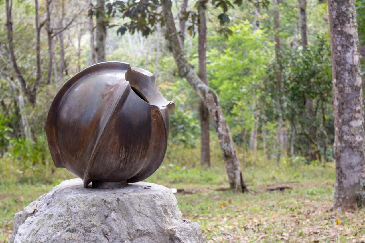 Invita IVEC a recorrido virtual por el Jardín de las Esculturas