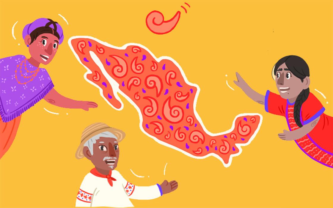 El increíble gráfico que muestra todas las lenguas originarias de México (y sus relaciones).