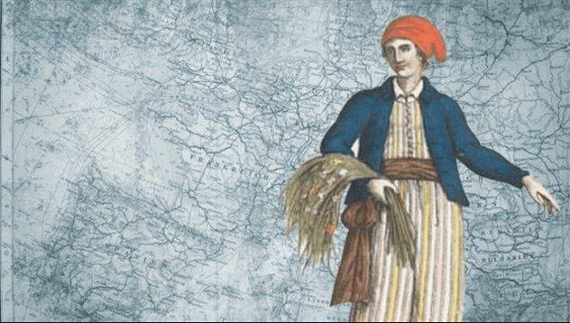 Jeanne Baret, la botánica que dio la vuelta al mundo vestida de hombre.
