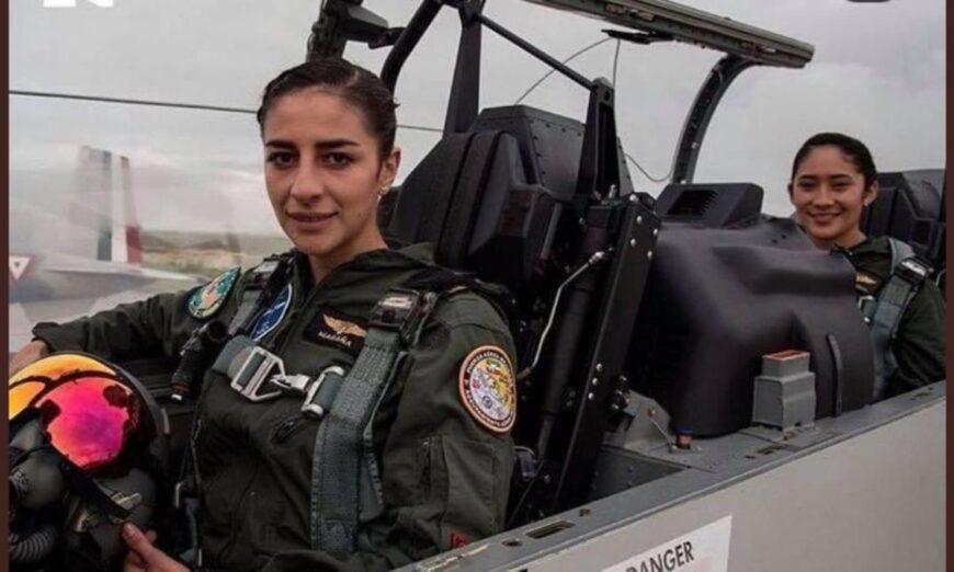 Las pilotas que hicieron historia en el desfile militar 2020