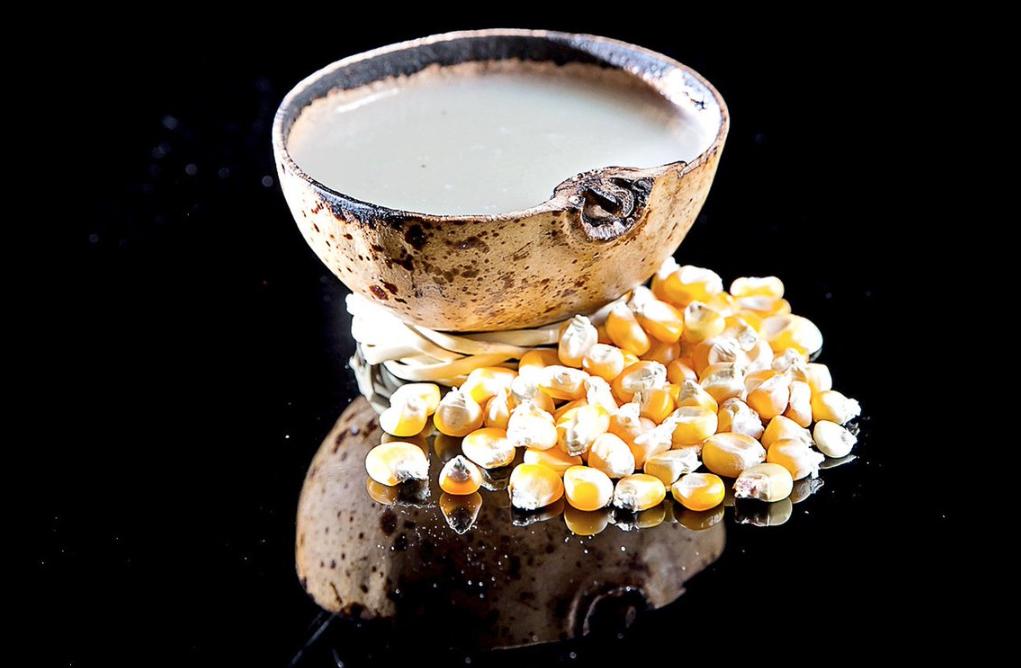 Atole de maíz, bebida ritual de la huasteca