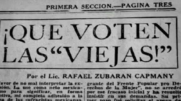 ¿La democracia está libre de sexismo? |67 años del voto femenino en México.