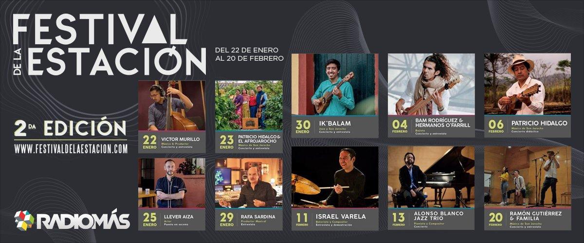 """""""Festival de la Estación"""", una apuesta por difundir el talento veracruzano"""