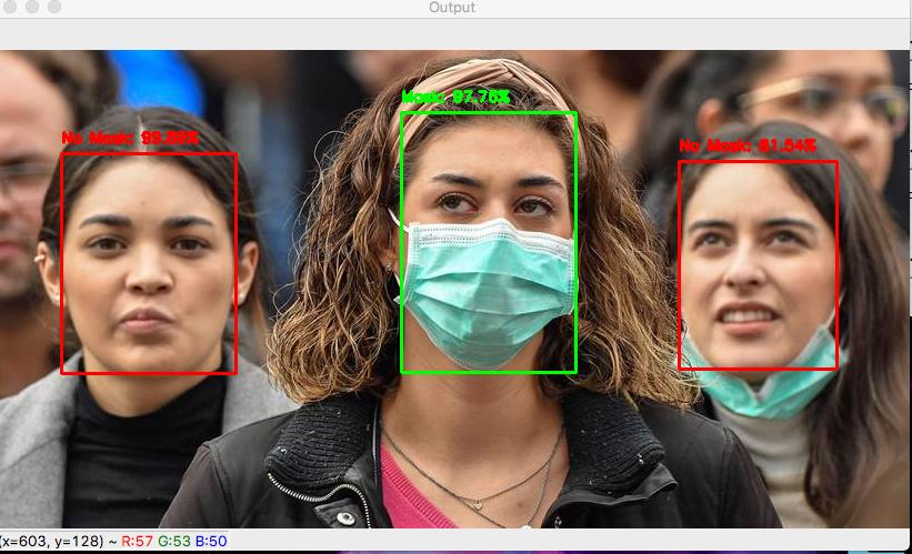 Crean Inteligencia Artificial para identificar rostros sin cubrebocas