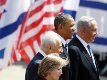 Obama inicia visita a Israel sin ilusiones de paz con Palestina