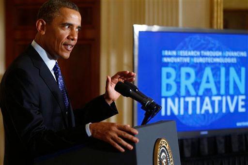 Obama lanza iniciativa para crear mapa del cerebro humano