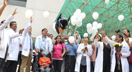 Concluye con éxito segundo trasplante de médula ósea en Cecan: SS