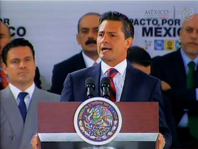 Peña Nieto llama a privilegiar el Pacto por encima de cualquier coyuntura