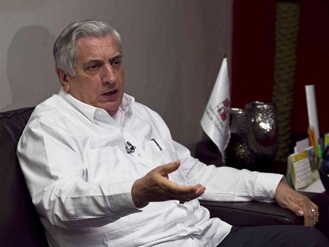 Procuraduría de Tabasco decidirá si arraiga a Granier cuando llegue al estado: Núñez