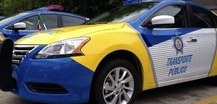 Denuncia DGTE a taxistas que ocasionaron daños a patrulla