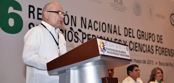Realizan 26ª Reunión Nacional del Grupo de Servicios Periciales y Ciencias Forenses, en Veracruz