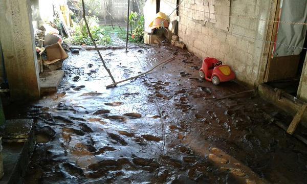 Lluvias dejan afectaciones en Xalapa y Jilotepec