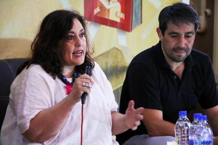 Laura Emilia Pacheco en la Feria Nacional del Libro Infantil y Juvenil