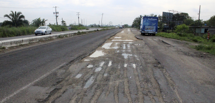 Rehabilitarán carretera Coatzacoalcos-Minatitlán, con novedoso esquema financiero