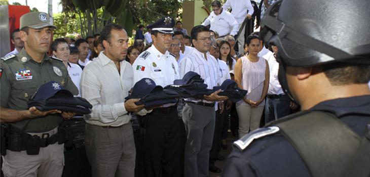 Refuerza Policía Estatal seguridad en municipio de Fortín