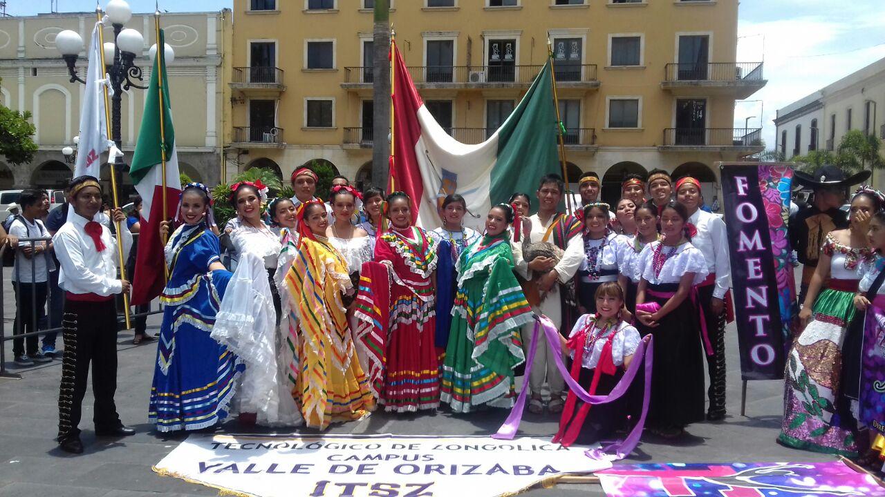 Participa Tec de Zongolica en el Festival Internacional de Folclore 2016