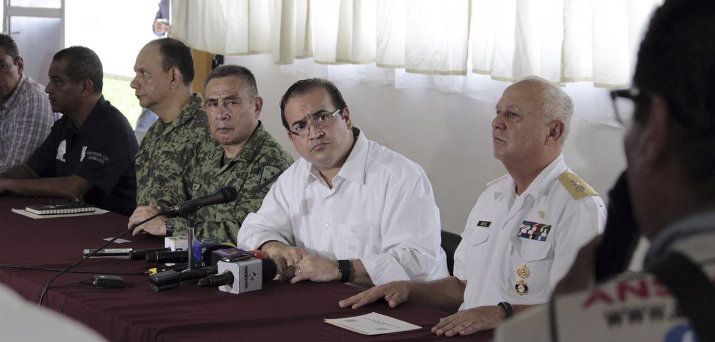 En Veracruz, no bajamos la guardia y seguimos determinados a responder al llamado de la sociedad: Javier Duarte
