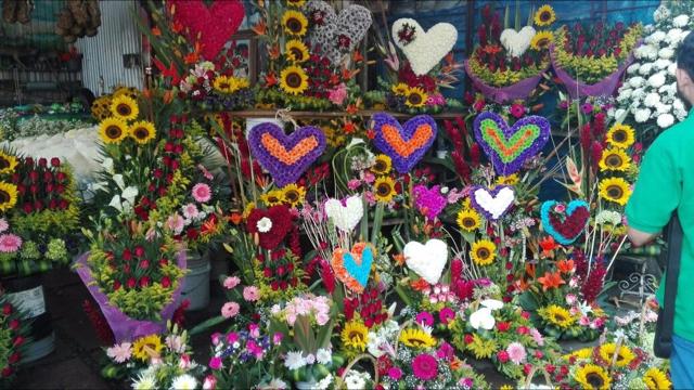 Repunta la venta de flores con motivo del 14 de febrero