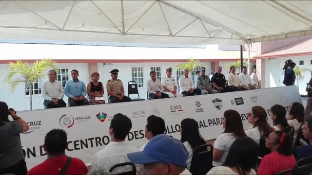 Inauguran Centro de Prevención del Delito en el municipio de Veracruz