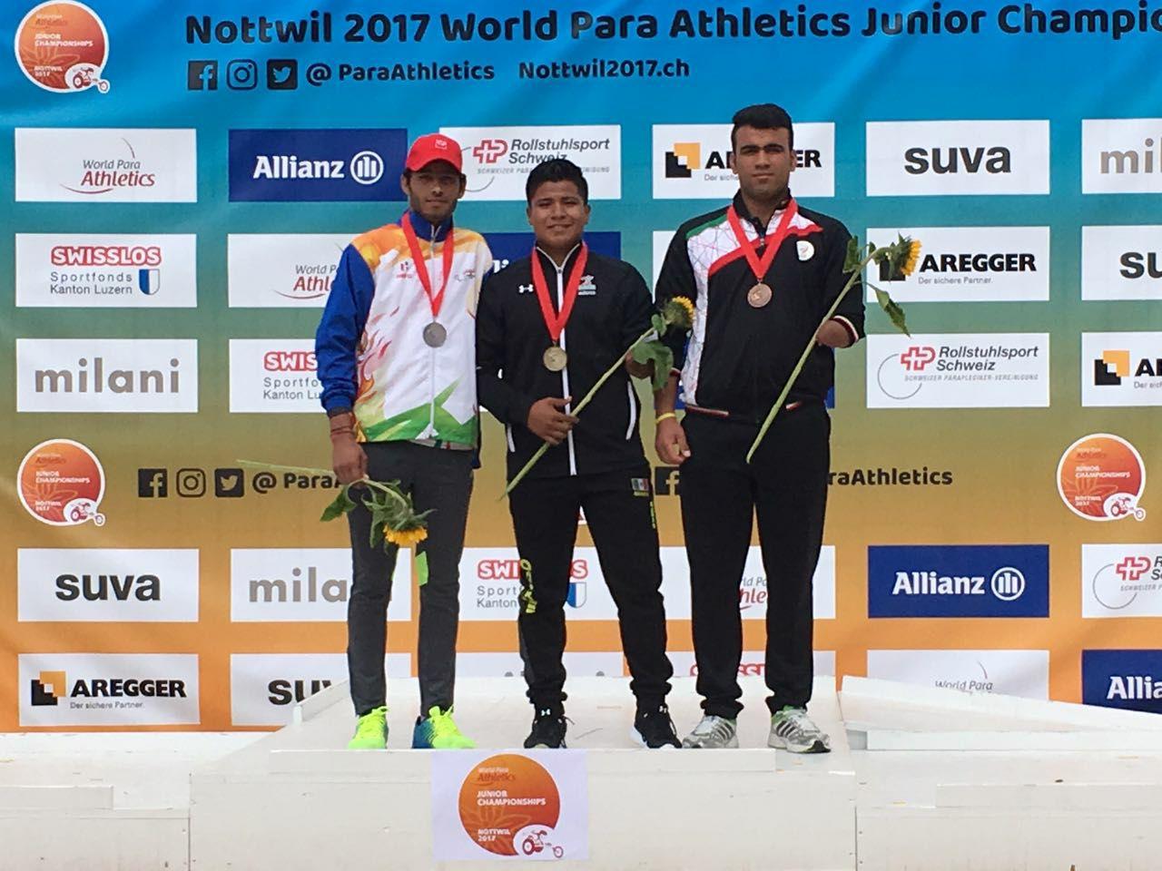 Oro para Eliezer Buenaventura en Mundial Junior Para-Atletismo en Suiza