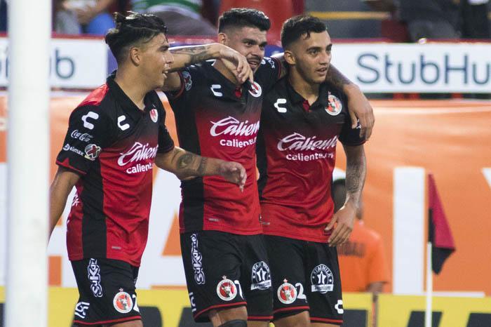 Xolos sigue en ascenso y vence 3-1 a Atlas que acumuló cuarta derrota