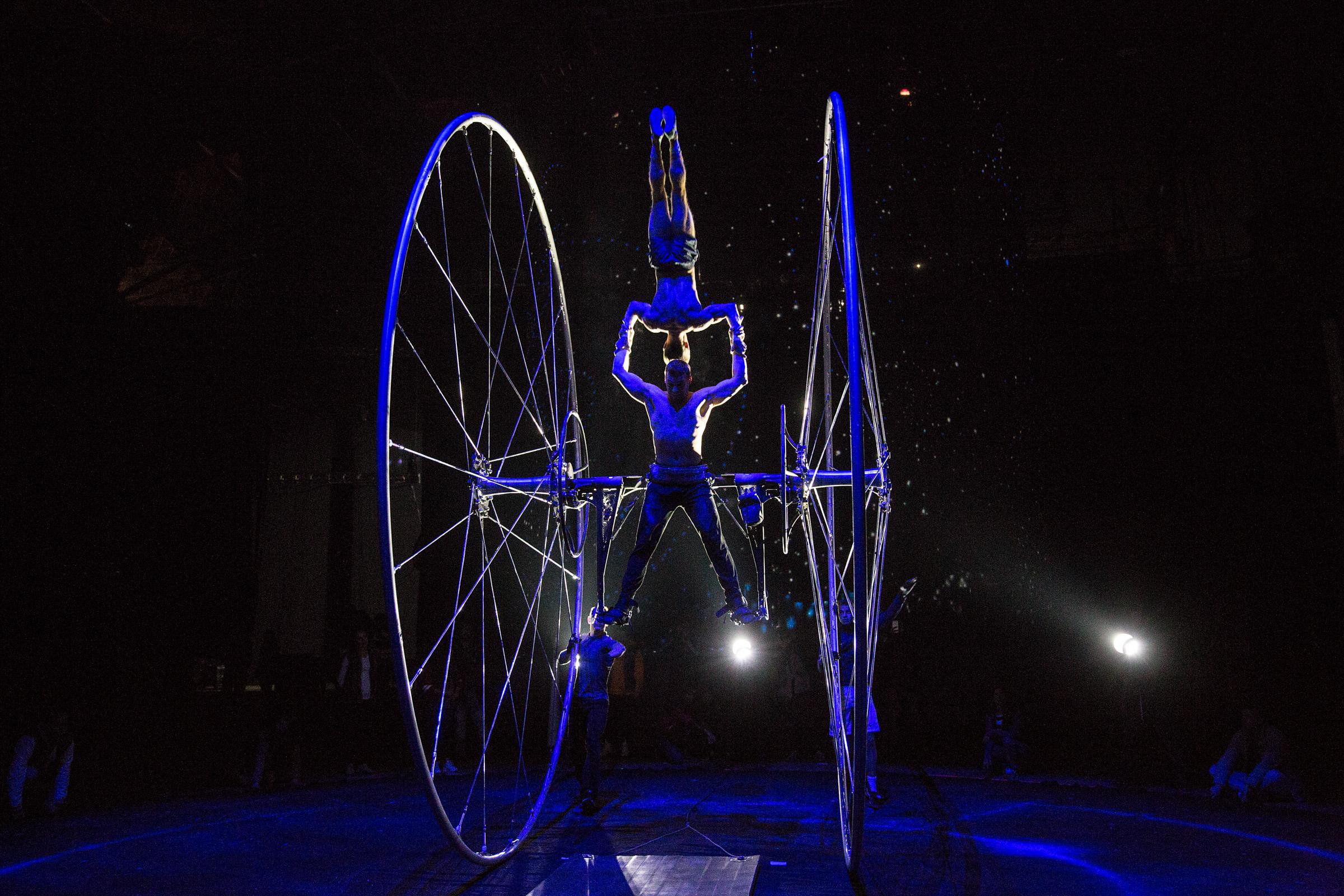 Cirque du Soleil anunció la reapertura de sus espectáculos