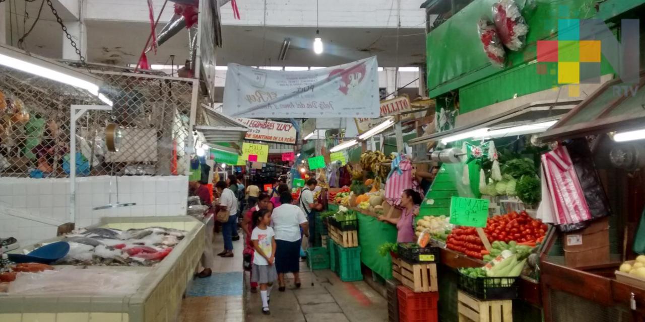 Sin iniciar los trabajos de rehabilitación del mercado Héroes del 47 en Tuxpan