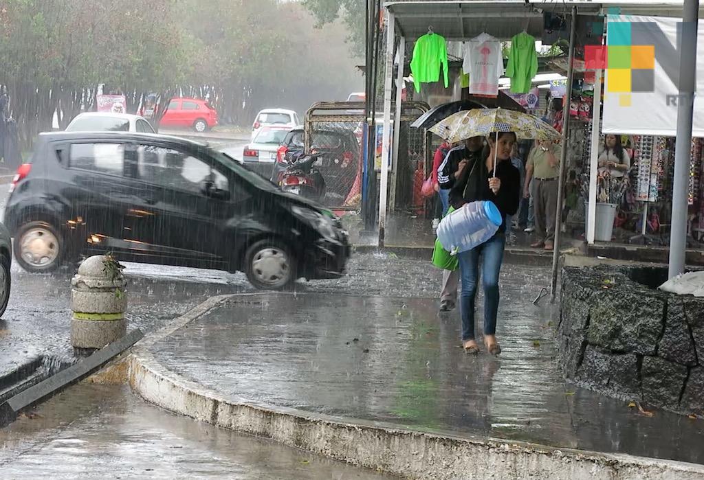Lluvias en zona montañosa del estado de Veracruz; continúa sequía en zona norte
