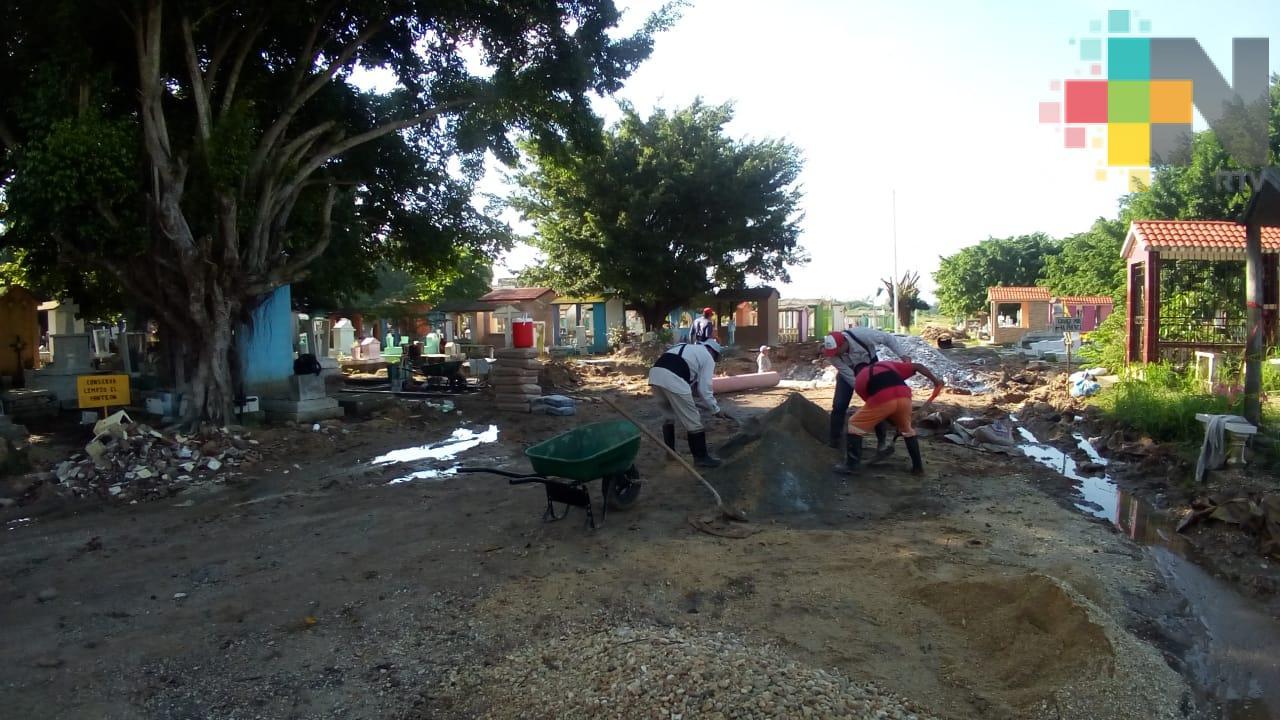 La paz de sepulcros en Huayacocotla se los llevó «Grace»