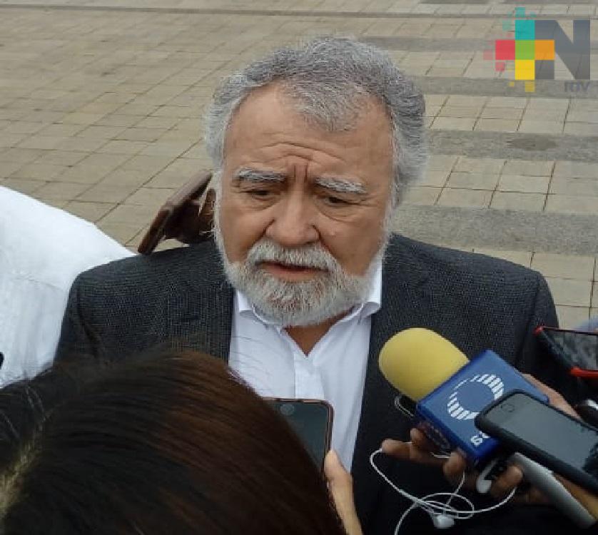 El subsecretario de Gobernación, Alejandro Encinas, se reunió con el gobernador de Veracruz