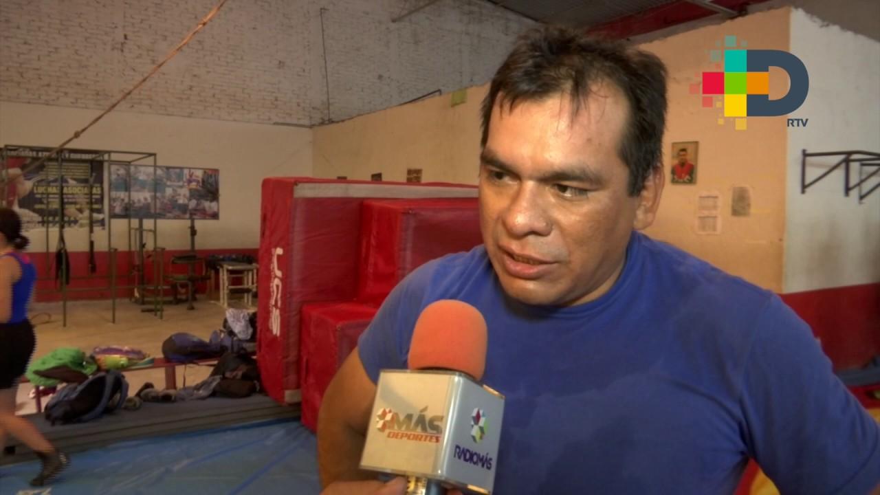 El selectivo de luchas, de enseñanza: Óscar Aguilar