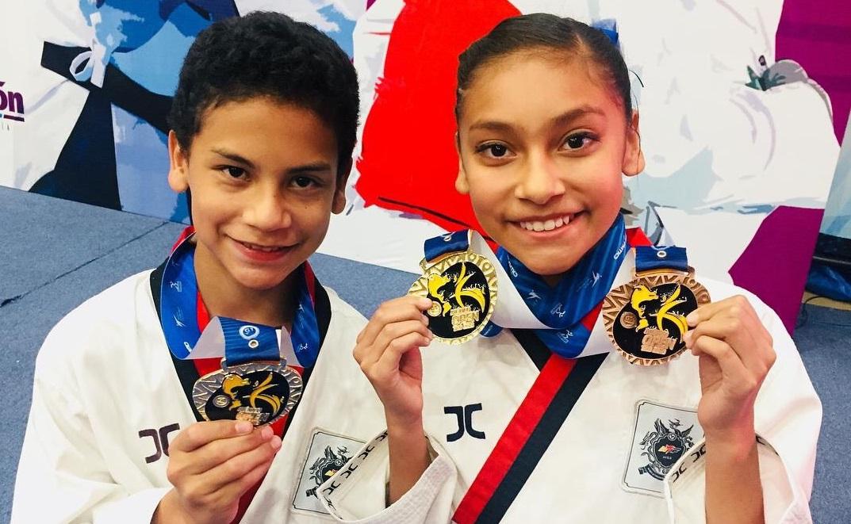 Nicole Dorantes lista para competir en el US Open de Taekwondo
